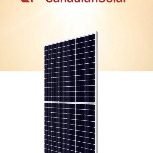 Panel solar 450w 144 celulas canadian solar