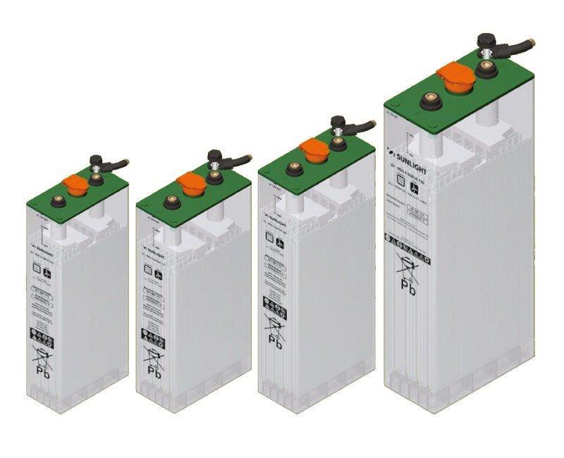 12 acumuladores 2V SOPZS 500AH unidad