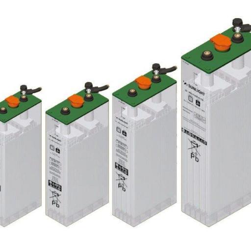 12 acumuladores SOPZS 2V 605AH unidad