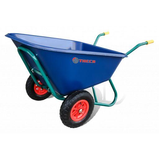 CARRETILLA C2-900 B/NYLON 300 L 2R/NEUMATICA