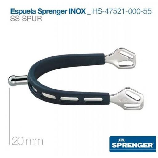 ESPUELA SPRENGER INOX HS-47521-000-55