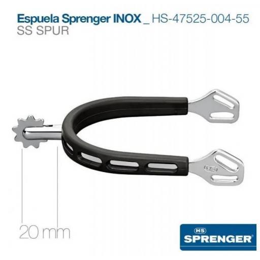 ESPUELA SPRENGER INOX HS-47525-004-55