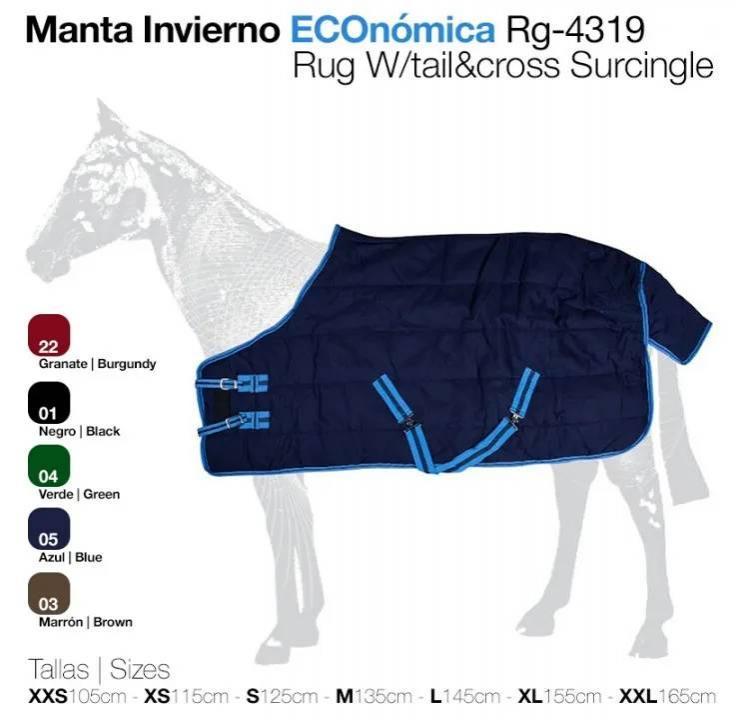 MANTA INVIERNO ECO. RG-4319