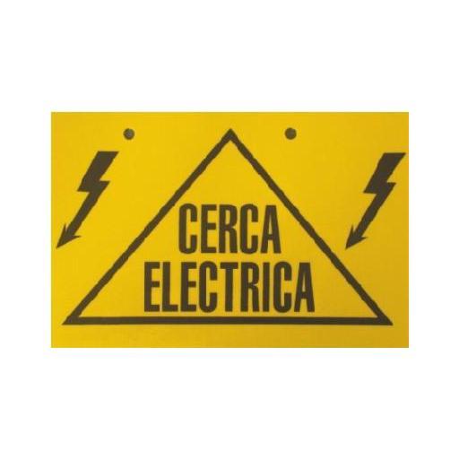 PLACA SEÑALIZACIÓN CERCA ELECTRICA