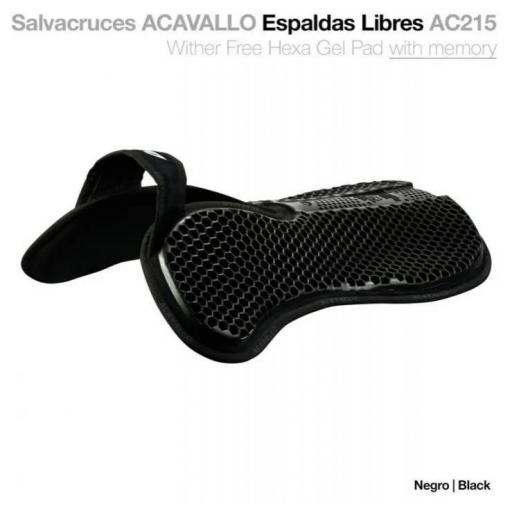 SALVACRUCES ACAVALLO ESPALDAS LIBRES NEGRO AC-215
