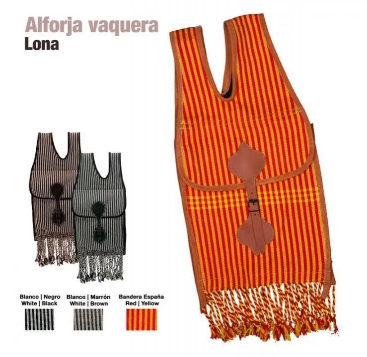 ALFORJA VAQUERA CASTECUS LONA