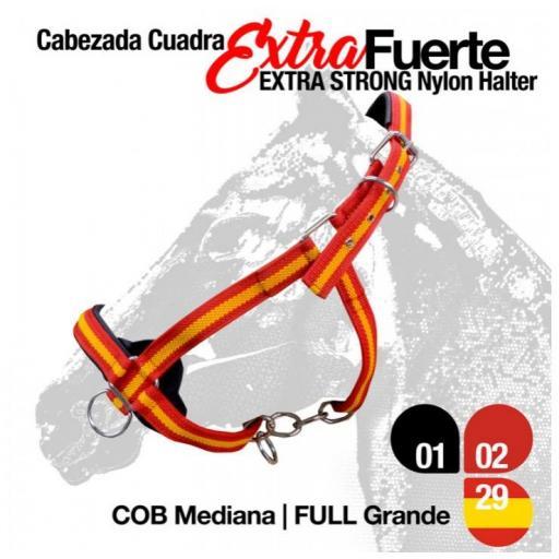 CABEZADA CUADRA EXTRA FUERTE 290