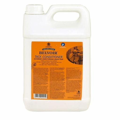C&D Jaboncillo Belvoir Tack Acondicionador Spray STEP 2 5L