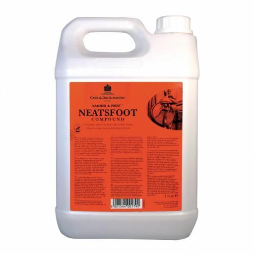 C&D Vanner&Prest Neatsfoot Aceite Pata de buey 5L