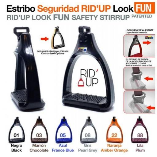 ESTRIBO SEGURIDAD RID'UP LOOK FUN