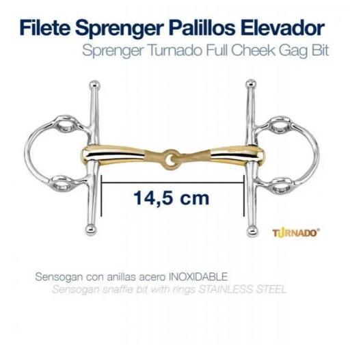 FILETE SPRENGER PALILLOS ELEVADOR HS-41588