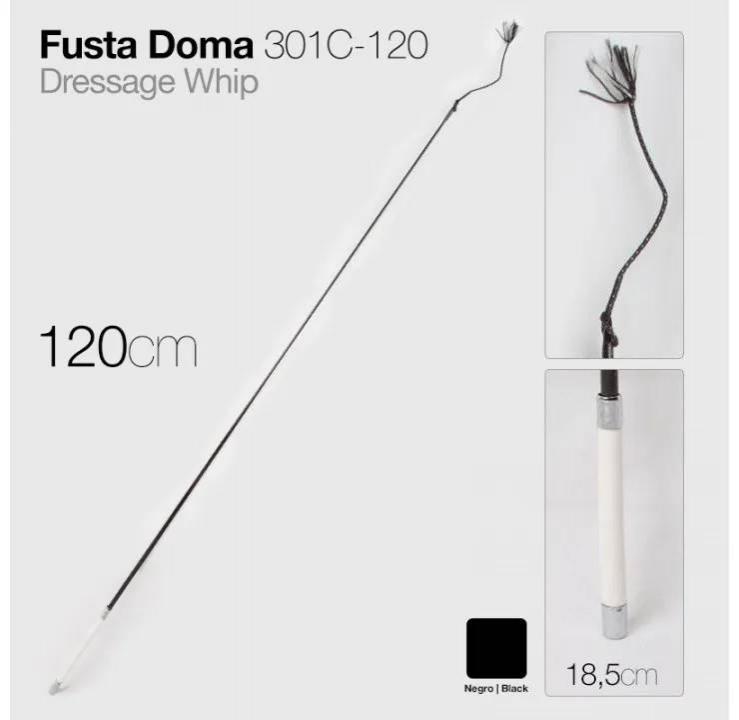 FUSTA DOMA 301C-120 NEGRO 120cm