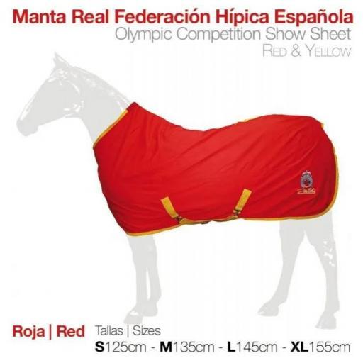 MANTA REAL FEDERACIÓN HÍPICA ESPAÑOLA