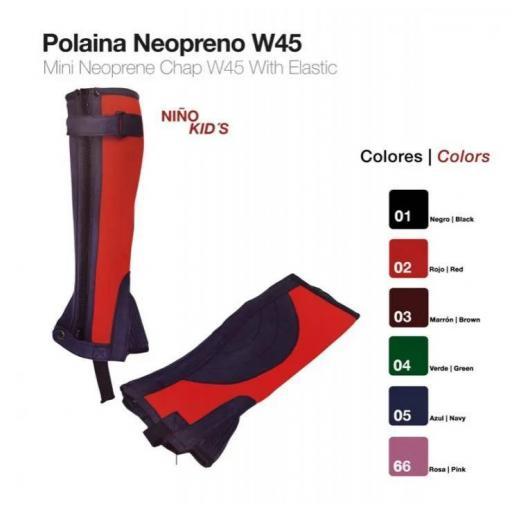 POLAINA NEOPRENO NIÑO W45 [3]