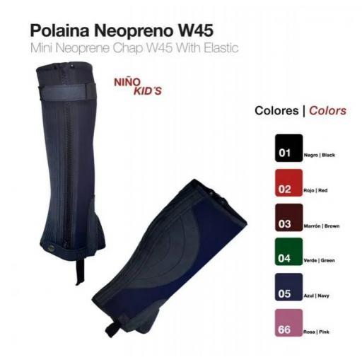 POLAINA NEOPRENO NIÑO W45