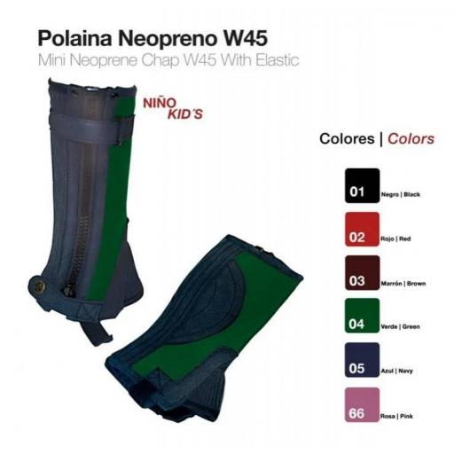 POLAINA NEOPRENO NIÑO W45 [1]