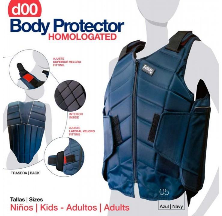 PROTECTOR BODY HOMOLOGADO AZUL