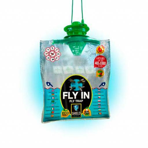 TRAMPA PARA MOSCAS FLY IN ECOLÓGICA