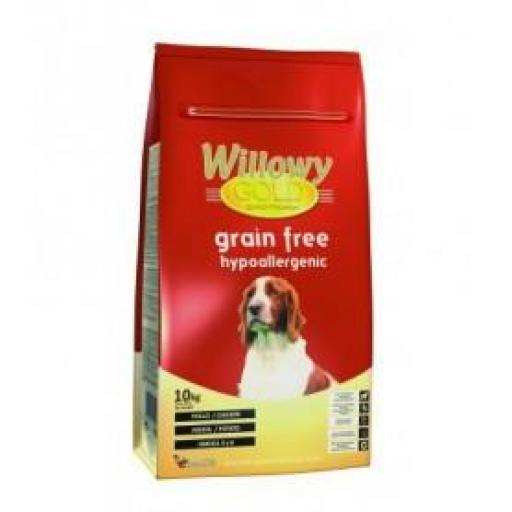WILLOWY GOLD GRAIN FREE HYPOALLERGENIC
