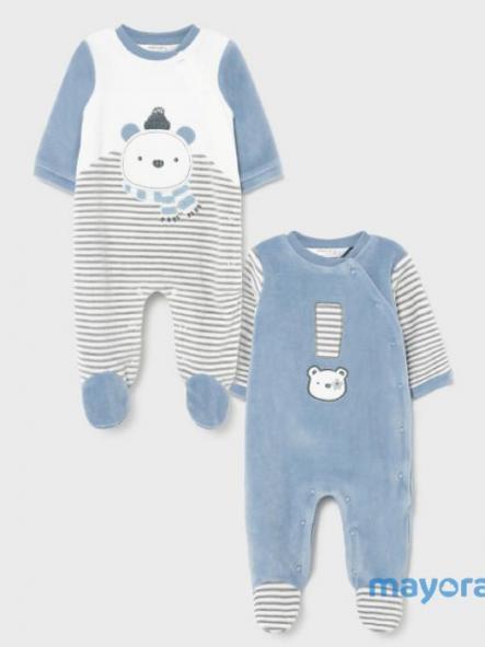 Set 2 Pijamas Terciopelo Mayoral 2685-43