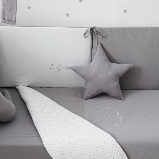 Cojín Estrella Bimbidreams  Gris