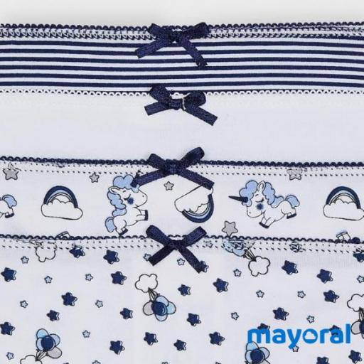 Set  4 Braguitas Mayoral 10045-61