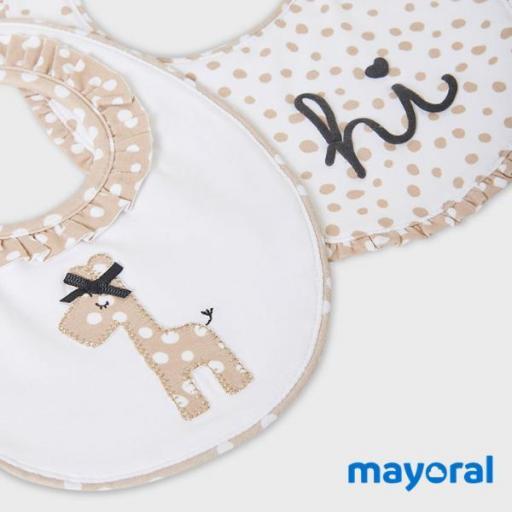 Set 2 Baberos Mayoral 9879-38 [2]