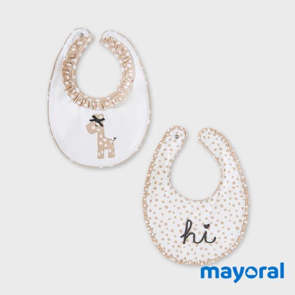 Set 2 Baberos Mayoral 9879-38
