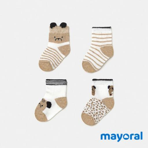Pack 4 Calcetines Mayoral 9360-73