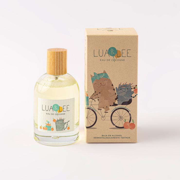 Colonia Infantil Lua&Lee 100ml Packaging Compostable