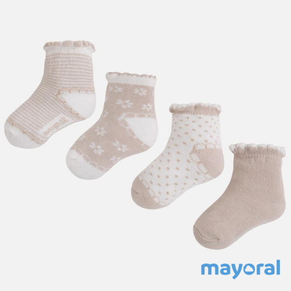 Set 4 calcetines Mayoral 9457-34