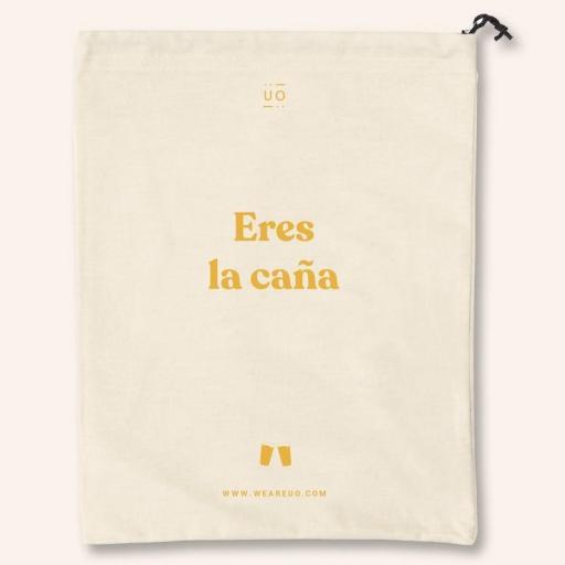 """Bolsa Tela """"Eres la Caña"""" [1]"""