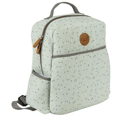 Mochila Maternal Bimbidreams Planet Menta