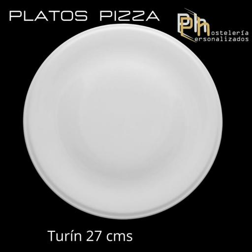 Plato de Pizza Personalizado Turín 27 cms. [3]