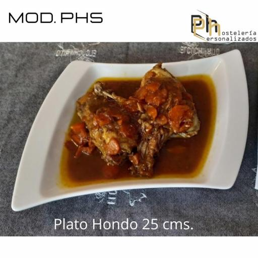 Plato hondo Personalizado 25, PH5