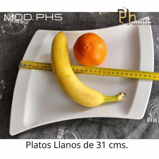 Plato llano Personalizado 31, PH5