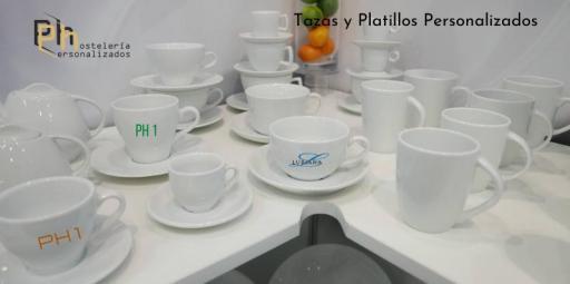 TAZAS Y PLATILLOS CAFÉ PERSONALIZADOS