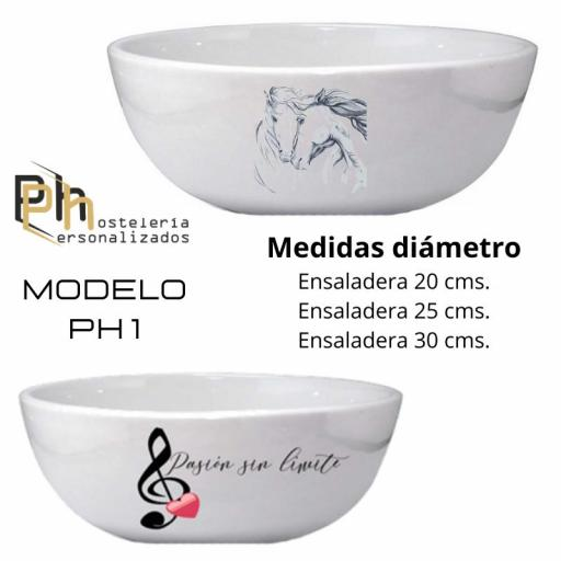 Ensaladera Personalizada MOD. PH1