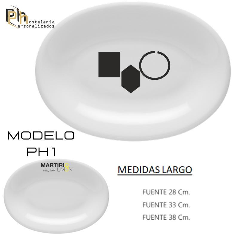 FUENTE DE CARNE PERSONALIZADA MOD. PH1