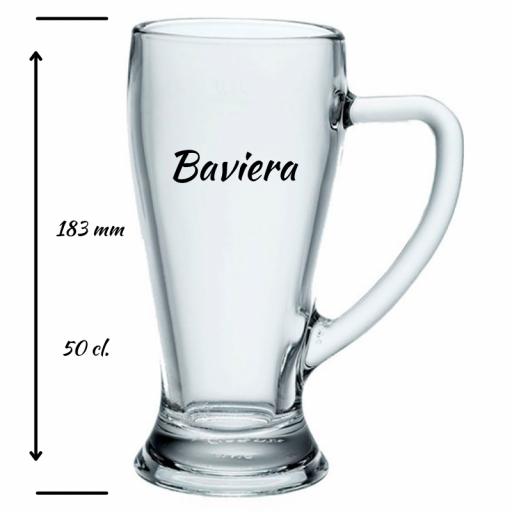 Jarra de Cerveza Personalizada Baviera 50 cl [1]