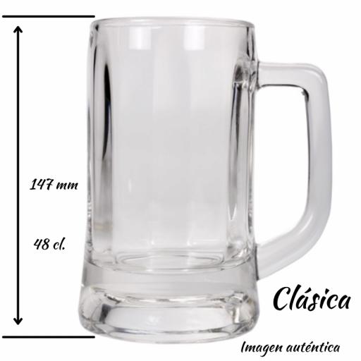 JARRA DE CERVEZA 48 cl. CLÁSICA [1]