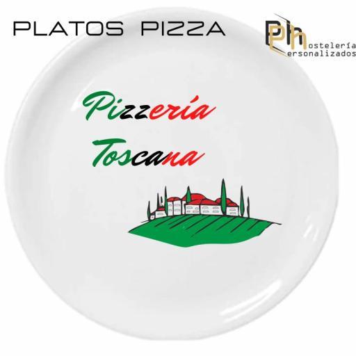 Plato de Pizza Personalizado Padua 32 cms. [3]