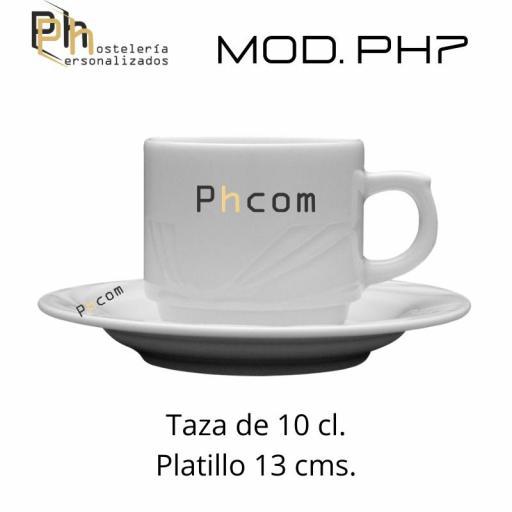Platillo Café 13 cms. Personalizado a 1 color. MOD.PH7 [1]