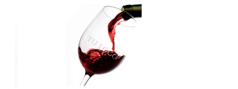 Personalización en copas de vino
