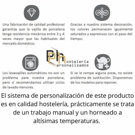 Platillo Café 14,5 cms. Personalizado a 1 color. MOD.PH7 [2]
