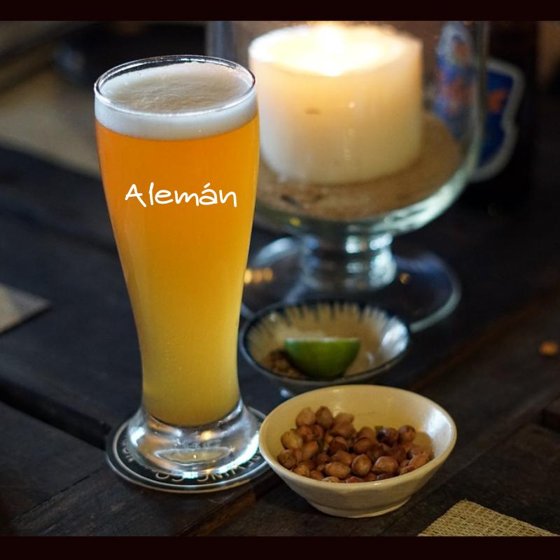 Vaso Cerveza Personalizado Alemán