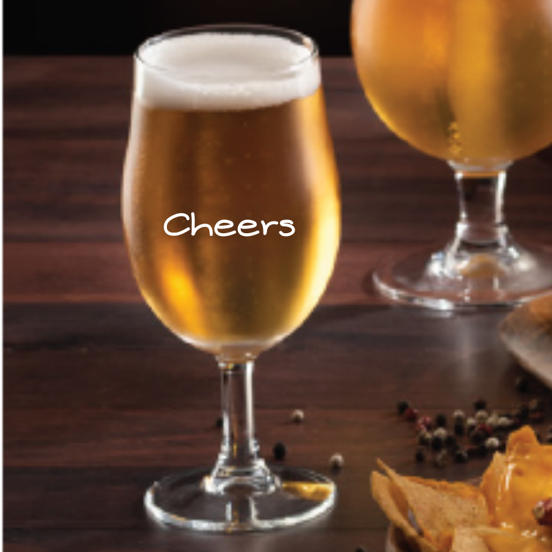 Copa Cerveza Cheers