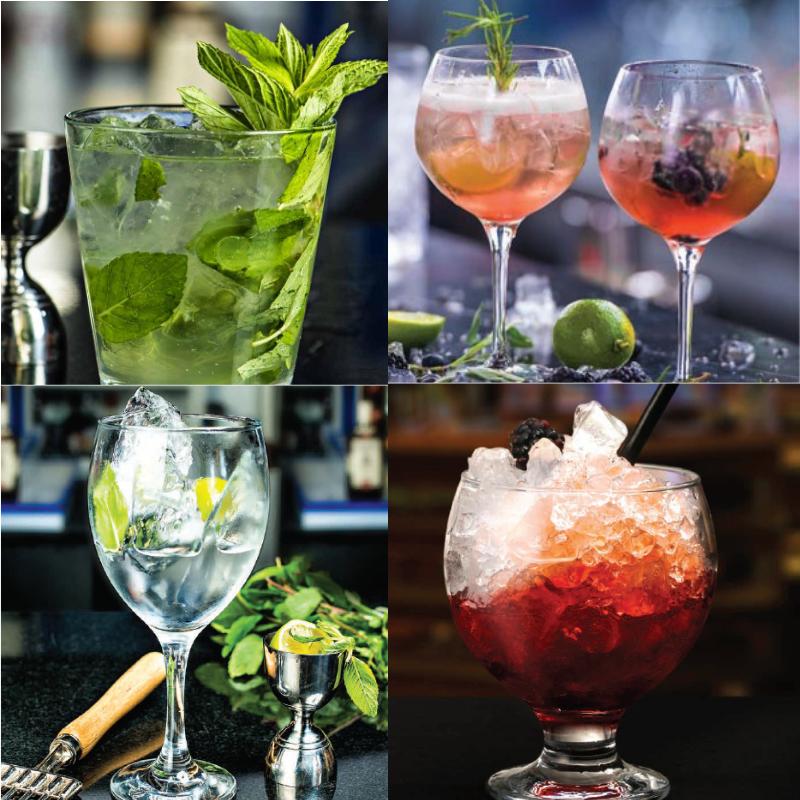 Copas Gin Tonic y Combinados
