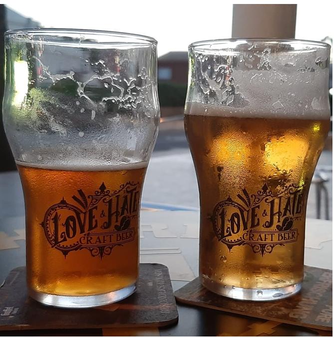Vaso Cerveza Personalizado Nonic 34 cl.