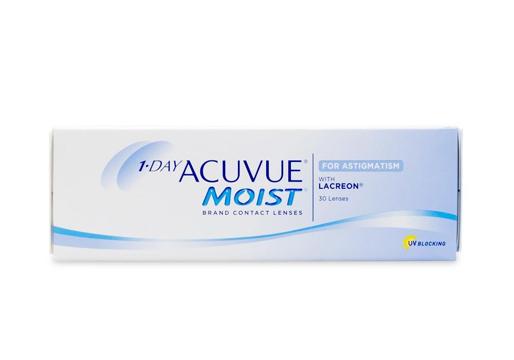 1•DAY ACUVUE® MOIST FOR ASTIGMATISM (30 u) 8.50